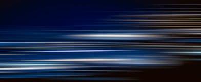 Абстрактный красочный свет отстает в темной предпосылке Стоковые Фотографии RF