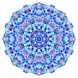 Абстрактный красочный фон круга Знамя мозаики круглое геометрических форм Стоковые Фотографии RF