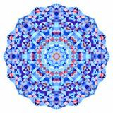 Абстрактный красочный фон круга мозаика Стоковые Фотографии RF