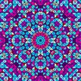 Абстрактный красочный цветок цифров декоративный Стоковые Изображения RF