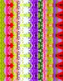 Абстрактный красочный цветочный узор предпосылки Стоковая Фотография RF