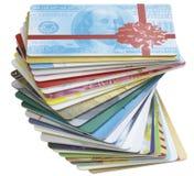 абстрактный кредит карточек Стоковые Фото