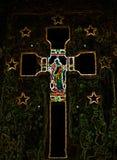 Абстрактный крест распятия стоковое фото rf