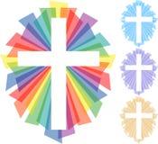 абстрактный крест eps