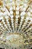 абстрактный кристаллический светильник Стоковое Изображение