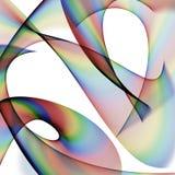 Абстрактный круговой состав Иллюстрация вектора