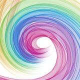Абстрактный круговой состав Бесплатная Иллюстрация