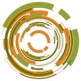 абстрактный круг предпосылки иллюстрация штока