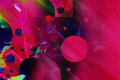 абстрактный круг предпосылки Стоковое Изображение