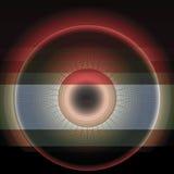 Абстрактный круг Иллюстрация вектора
