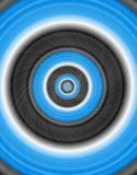 абстрактный круг Стоковое Изображение