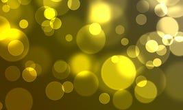 абстрактный круг bokeh предпосылки освещает сеть типа Стоковое Фото