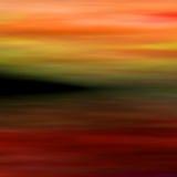абстрактный ландшафт 3 Стоковое Изображение RF