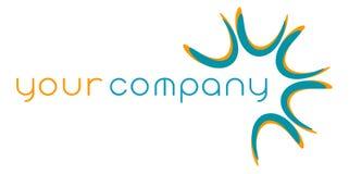 абстрактный логос компании Стоковая Фотография RF