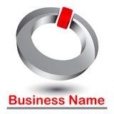 абстрактный логос 3d иллюстрация штока