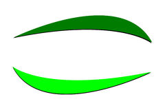 абстрактный логос Стоковые Фото