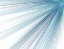 абстрактный луч фрактали Стоковая Фотография RF