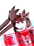 абстрактный льдед конструкции предпосылки стоковая фотография rf