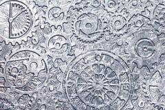 абстрактный металл предпосылки Стоковое фото RF