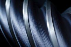 абстрактный металл сверла Стоковое Изображение RF