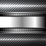 абстрактный металл предпосылки также вектор иллюстрации притяжки corel Стоковая Фотография