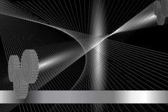 абстрактный механизм предпосылки иллюстрация вектора