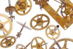 абстрактный механизм состава часов предпосылки Стоковое Изображение