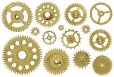 абстрактный механизм состава часов предпосылки Стоковые Фотографии RF