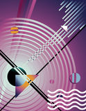 абстрактный мир предпосылки иллюстрация вектора