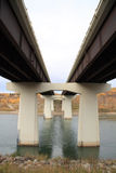 абстрактный мост Стоковое фото RF