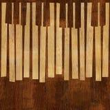 Абстрактный музыкальный рояль пользуется ключом - безшовная предпосылка - различный co бесплатная иллюстрация