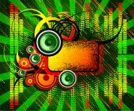 абстрактный мюзикл конструкции Стоковое фото RF