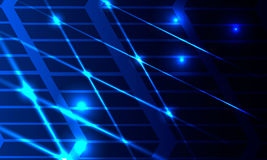 Абстрактный накалять выравнивается с пересекая и подсвеченные диаграммами Стоковое Фото