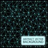 абстрактный неон предпосылки Космос сини зарева света лучей дизайна иллюстрации вектора Стоковое Фото