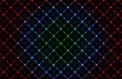 абстрактный неон решетки предпосылки иллюстрация вектора
