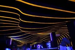 Абстрактный ночной клуб Стоковое Изображение