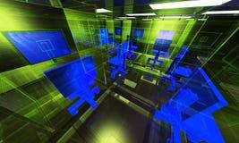 абстрактный нутряной офис Стоковая Фотография