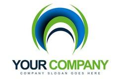Абстрактный объезжая логос иллюстрация штока