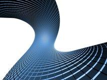 Абстрактный объект сини 3d Стоковое фото RF