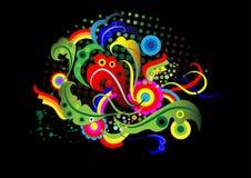 абстрактный овощ воображения элементов Стоковые Фотографии RF