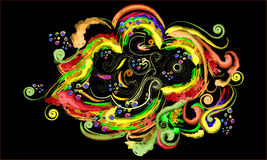 абстрактный овощ воображения elements1 Стоковые Фото