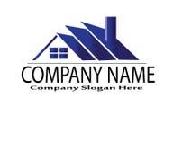 абстрактный логос элемента компании черноты предпосылки Стоковые Фото