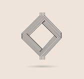 абстрактный логос Стоковое Фото