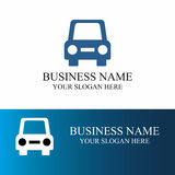 Абстрактный логотип автомобиля Стоковое Изображение