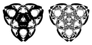 абстрактный логотип 2, знаки, символ, татуировка для дизайна или компания логотипа бесплатная иллюстрация