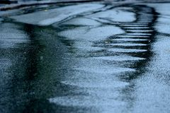 абстрактный дождь Стоковое Изображение RF