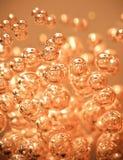 Абстрактный оранжевый пузырь Стоковые Фото