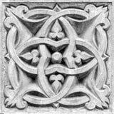 Абстрактный орнамент, барельеф Стоковое Изображение