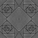 Абстрактный орнамент, геометрическая картина, отрезка дизайн вне, элемент оформления Стоковое фото RF