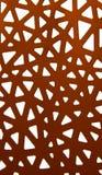 Абстрактный орнамент красной бумаги Стоковое Изображение RF